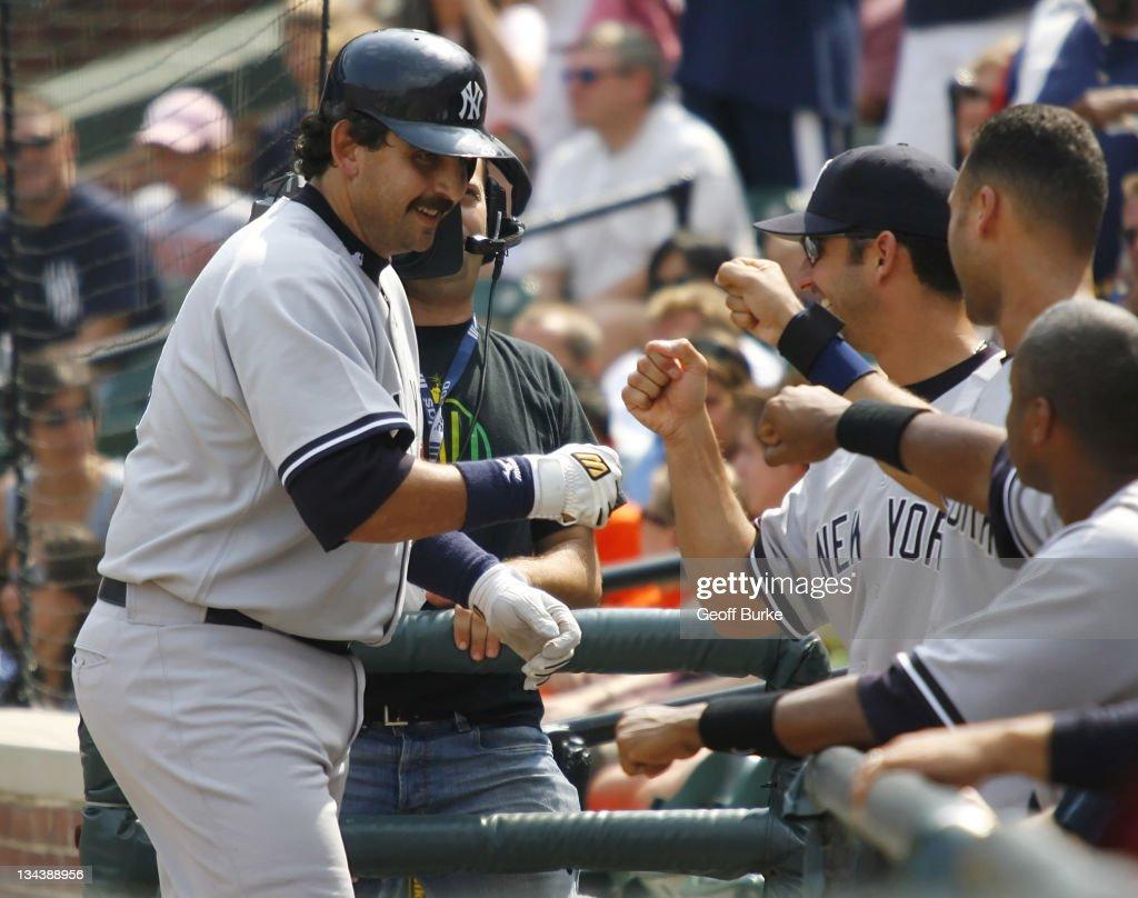 New York Yankees vs Baltimore Orioles - September 10, 2006 : News Photo