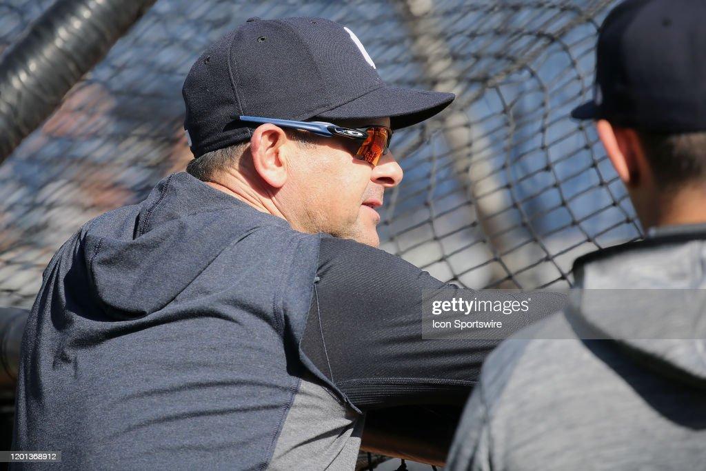 MLB: FEB 16 Spring Training - Yankees Workout : News Photo