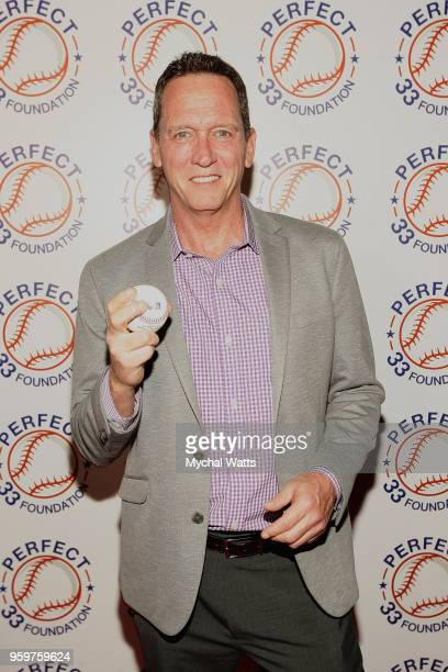 Yankees Pitcher David Cone attends the Perfect Game 20th Anniversary Celebration at Sony Hall on May 17 2018 in New York City