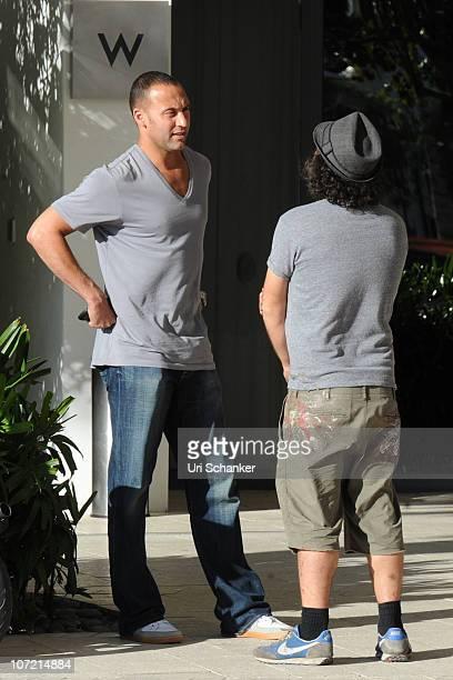 Yankee's short stop Derek Jeter is sighted on November 28 2010 in Miami Beach Florida