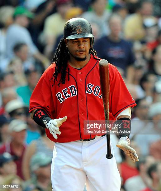 Yankees vs Boston Red Sox at Fenway Park., Red Sox Manny Ramirez