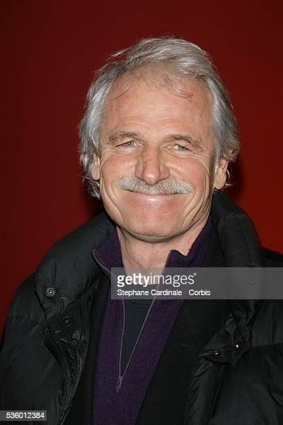 Yann Arthus Bertrand at the France Television Foundation presentation