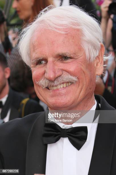 Yann Arthus Bertrand attends the 'The Killing Of A Sacred Deer' screening during the 70th annual Cannes Film Festival at Palais des Festivals on May...