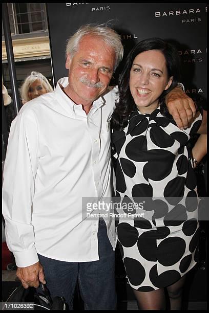 Yann Arthus Bertrand Barbara Rhil at Inauguration Of First Boutique 'Barbara Rhil' In Paris