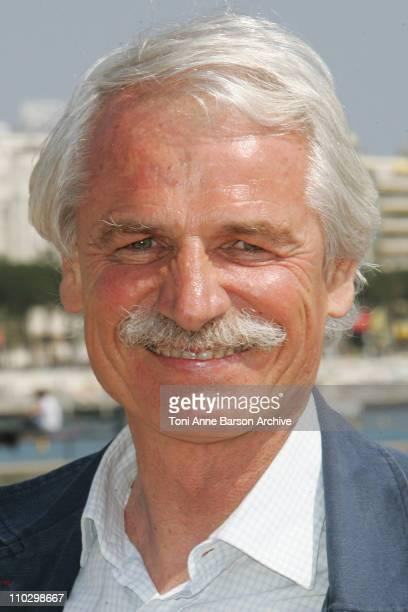 Yann ArthusBertrand during MIPTV 2007 'Green' Photocall with Yann ArthusBertrand at Majestic Pier in Cannes France