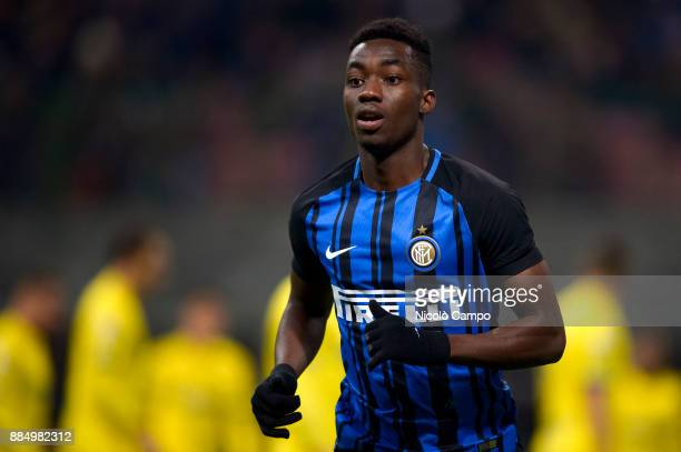 Yann Karamoh of FC Internazionale in action during the Serie A football match between FC Internazionale and AC ChievoVerona FC Internazionale won 50...