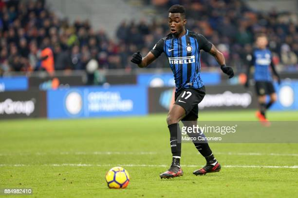 Yann Karamoh of FC Internazionale in action during the Serie A match between FC Internazionale and Ac Chievo Verona Fc Internazionale wins 50 over Ac...