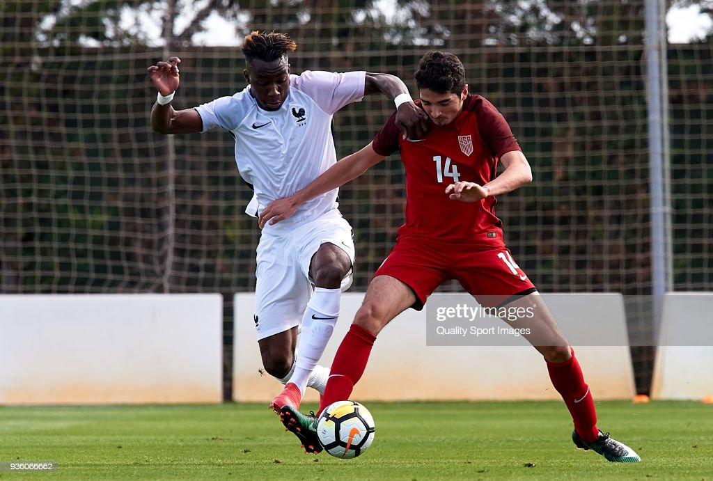France U20 v USA U20 - International Friendly : News Photo