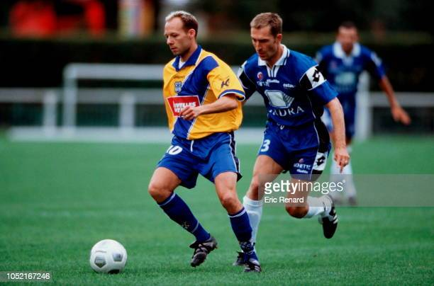 Yann LACHUER during the friendly match between Troyes and Bastia on july 12, 2000 in Sallanches, France.