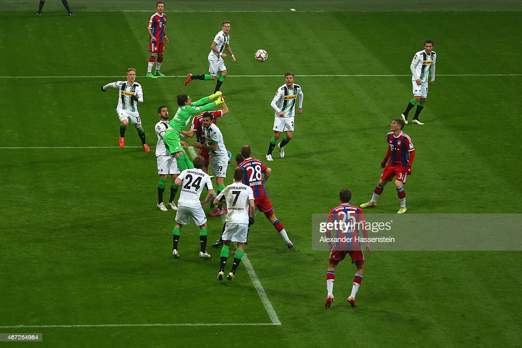 FC Bayern Muenchen v Borussia Moenchengladbach - Bundesliga : Fotografia de notícias