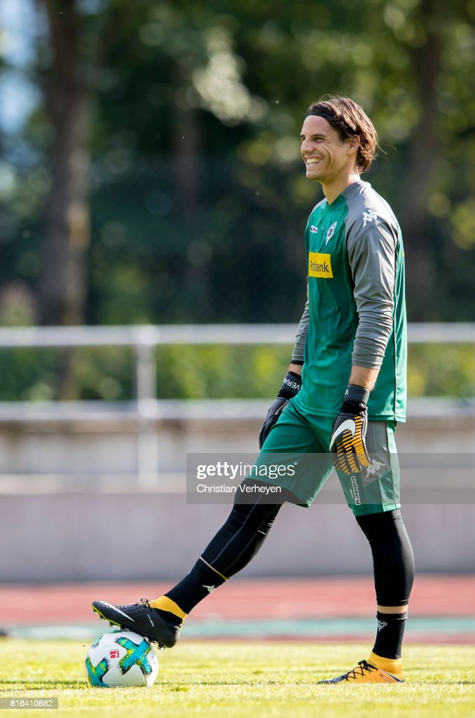 Yann Sommer of Borussia Moenchengladbach during a training session at the Training Camp of Borussia Moenchengladbach on July 17, 2017 in Rottach-Egern, Germany.