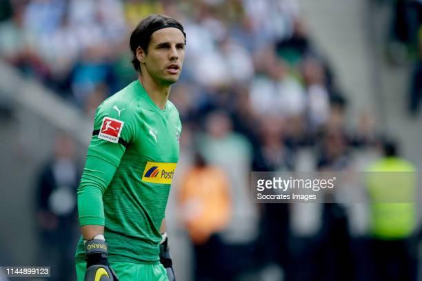Yann Sommer of Borussia Monchengladbach during the German Bundesliga match between Borussia Monchengladbach v Borussia Dortmund at the Borussia Park...