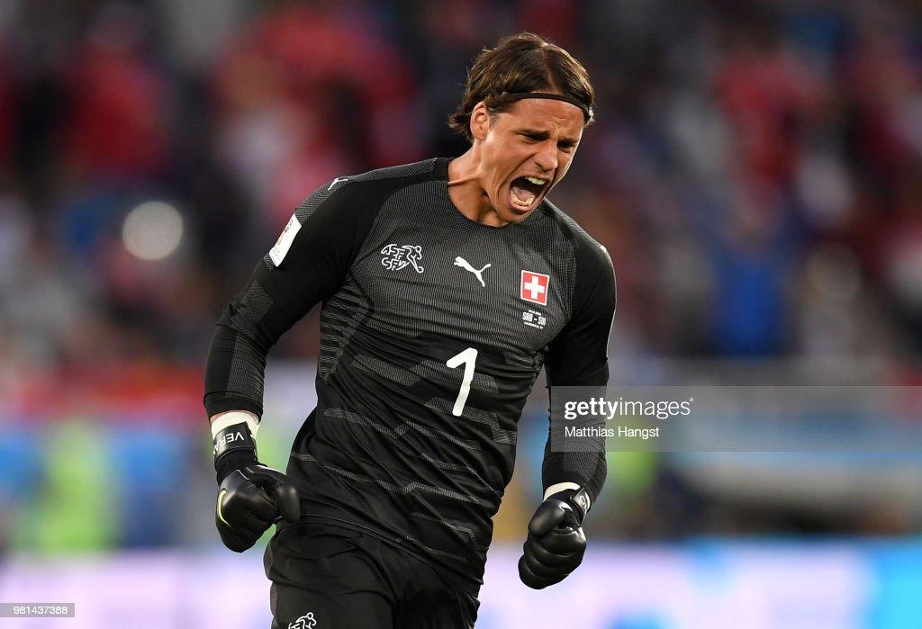 Serbia v Switzerland: Group E - 2018 FIFA World Cup Russia : News Photo
