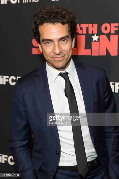 Yann Zenou attends New York premiere of IFC Film Death of Stalin at AMC Lincoln Square