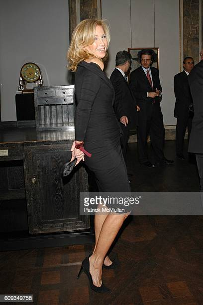 Yanna Avis attends Madame Jacques Chirac Madame Georges Pompidou Mr Ronald Lauder and Mrs Randolph Hearst Host a Private Dinner to Benefit THE...