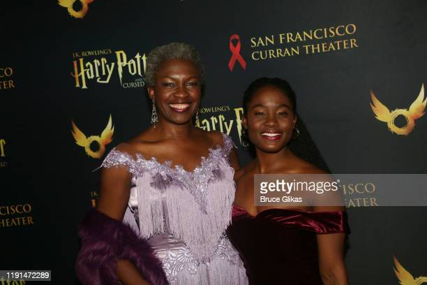 Yanna McIntosh and Folami Williams pose at the opening night after party for Harry Potter and The Cursed Child Parts One 2 at August Hall on December...
