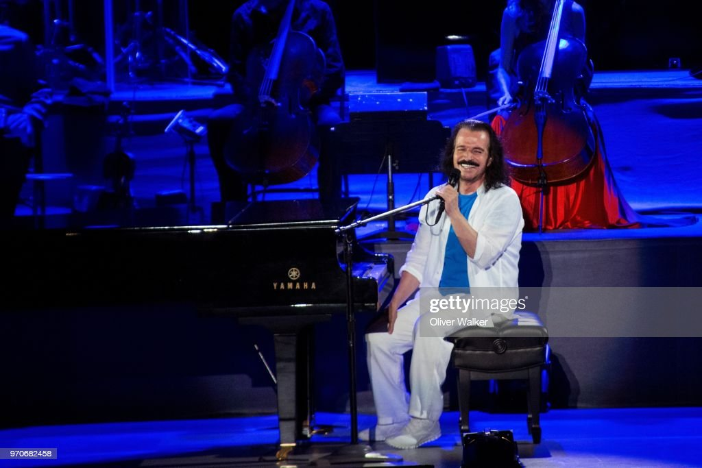 Yanni Performs At The Greek