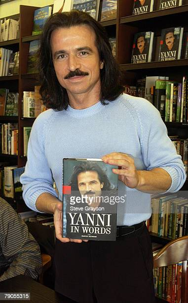 22 Yanni In Store Book Signing For Yanni In Words Pictures