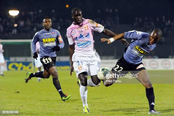 Yannick Anister SAGBO LATTE / Yacouba SYLLA Evian Thonon / Clermont 27eme journee de Ligue 2