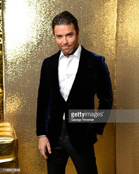 Yannick Bison poses inside the 2019 Canadian Screen Awards Portrait Studio held at Sony Centre for the Performing Arts on March 31 2019 in Toronto...