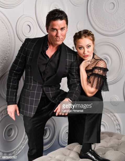 Yannick Bisson and Chantal Craig pose in the ETalk Portrait Studio at the 2017 Canadian Screen Awards at the Sony Centre For Performing Arts on March...