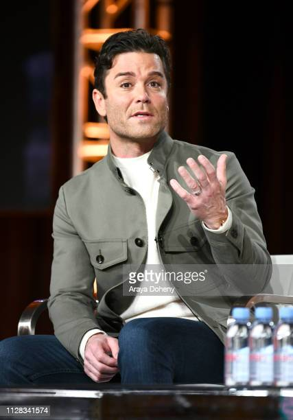 Yannick Bisson at Ovation Presents Upcoming Programming at 2019 Winter TCA Tour With Julia Stiles Lena Olin Yannick Bisson Lauren Lee Smith and More...
