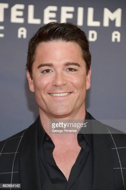 Yannick Bisson attends 2017 Canadian Screen Awards at Sony Centre For Performing Arts on March 12 2017 in Toronto Canada