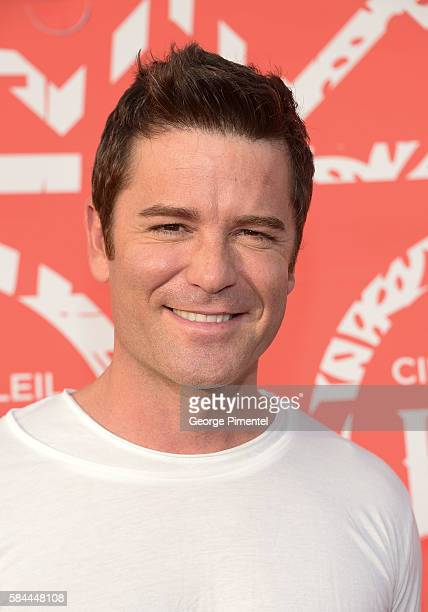 Yannick Bisson attends the opening of Cirque Du Soleil's Luzia at Port Lands on July 28 2016 in Toronto Canada