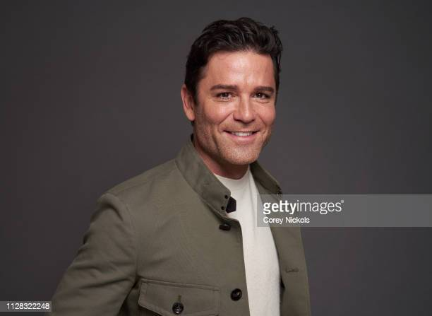 Yannick Bisson of CBC's 'Murdoch Mysteries' at The Langham Huntington Pasadena on February 8 2019 in Pasadena California