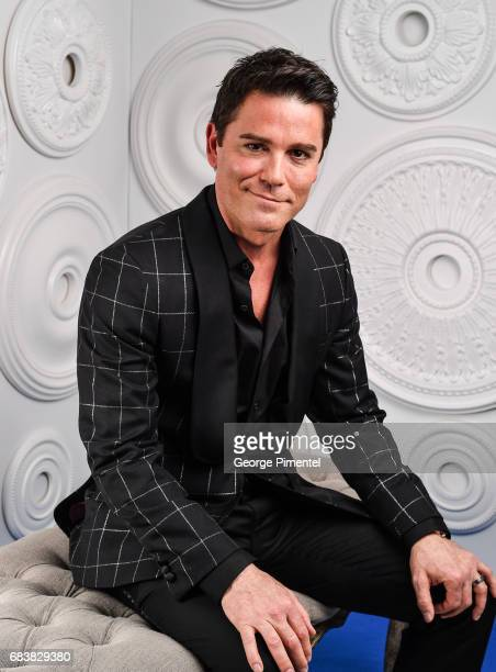 Yannick Bisson poses in the ETalk Portrait Studio at the 2017 Canadian Screen Awards at the Sony Centre For Performing Arts on March 12 2017 in...