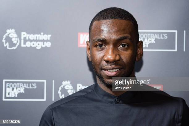 Yannick Bolasie attends the Football Black List 2016 at Village Underground on March 28 2017 in London England