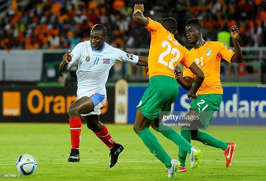 Democratic Republic of the Congo v Ivory Coast - 2015 African Cup of Nations : News Photo