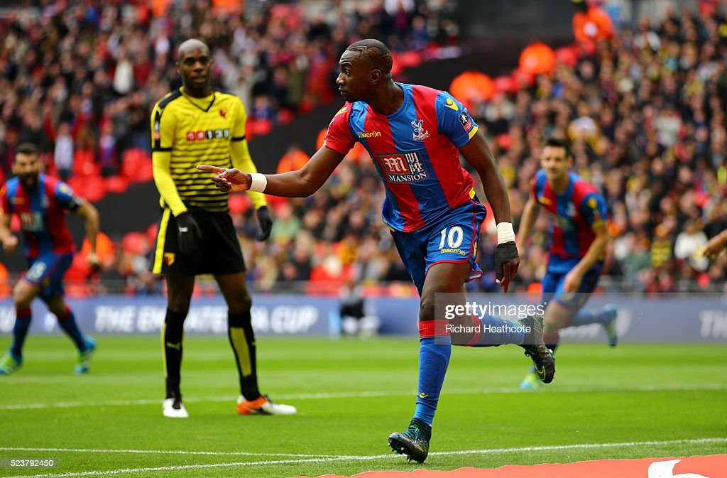 Watford v Crystal Palace - The Emirates FA Cup Semi Final : News Photo