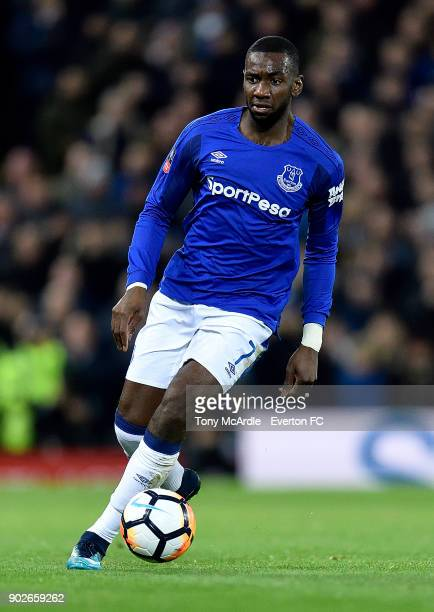 Yannick Bolasie of Everton during The Emirates FA Cup Third Round match between Liverpool and Everton at the Anfield on January 5 2018 in Liverpool...