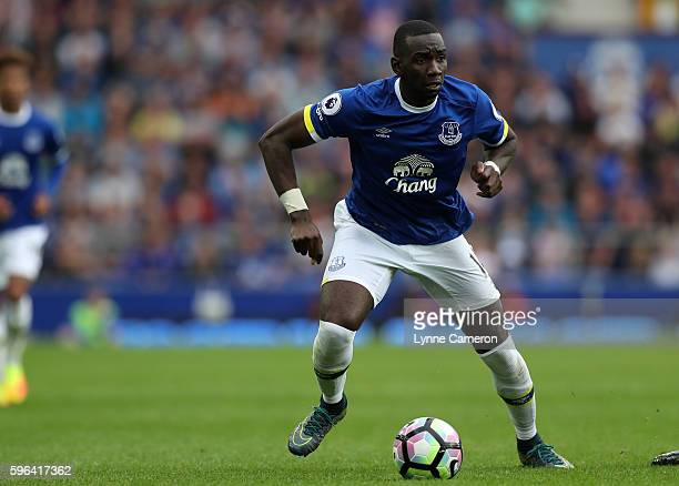 Yannick Bolasie of Everton during the Premier League match between Everton and Stoke City at Goodison Park on August 27 2016 in Liverpool England