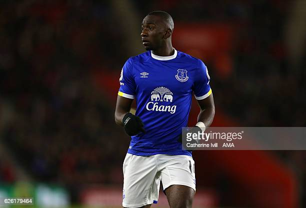 Yannick Bolasie of Everton during the Premier League match between Southampton and Everton at St Mary's Stadium on November 27 2016 in Southampton...