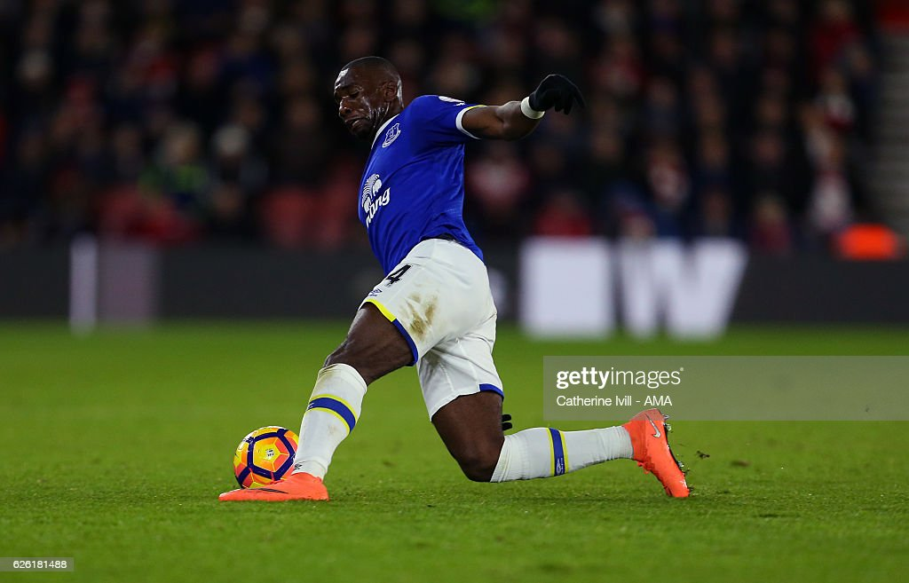 Yannick Bolasie of Everton during the Premier League match between Southampton and Everton at St Mary's Stadium on November 27, 2016 in Southampton, England.