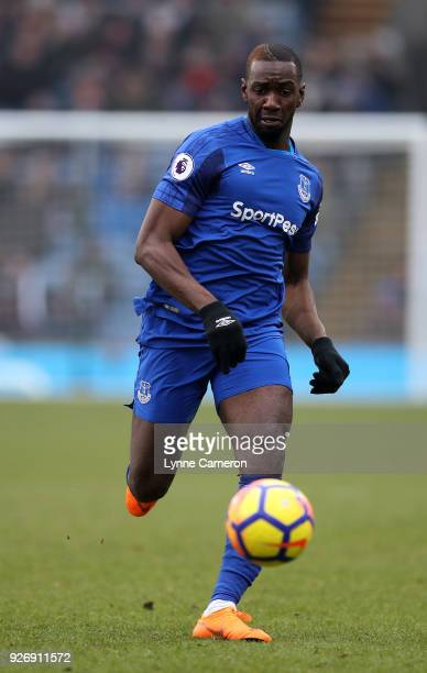 Yannick Bolasie of Everton during the Premier League match between Burnley and Everton at Turf Moor on March 3 2018 in Burnley England