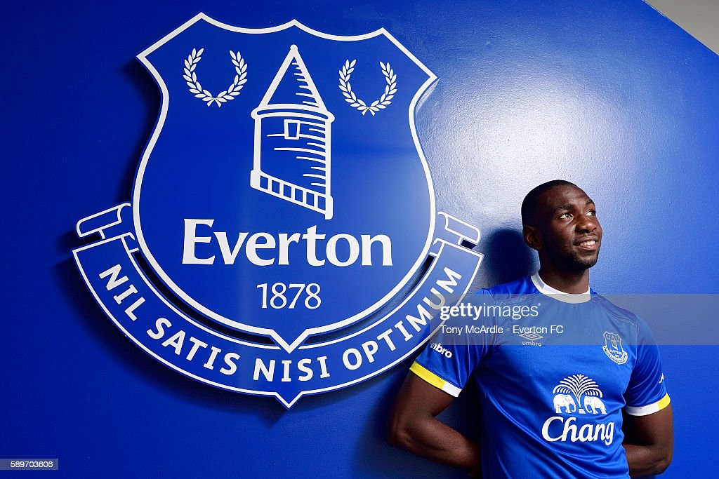 Everton Unveil New Signing Yannick Bolasie : News Photo