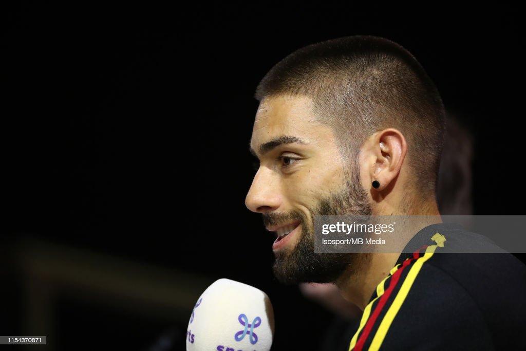 Belgium Press Conference & Training Session : News Photo