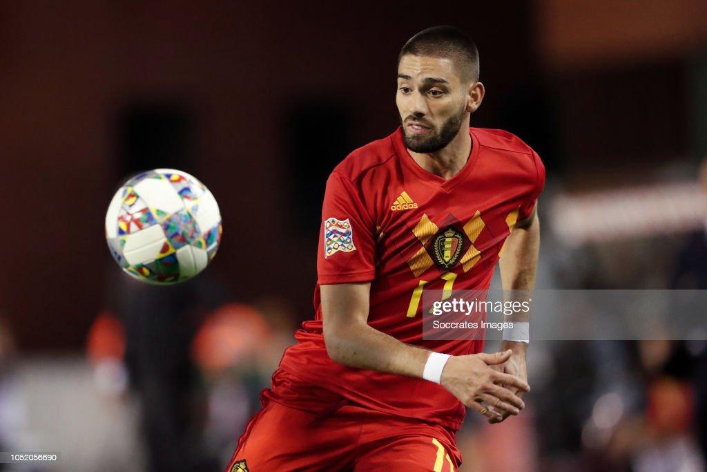 Belgium  v Switzerland  -UEFA Nations league : News Photo