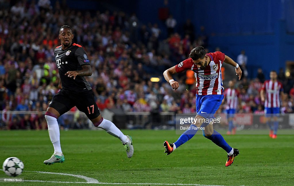 Club Atletico de Madrid v FC Bayern Muenchen - UEFA Champions League : News Photo