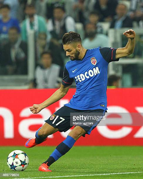 Yannick FerreiraCarrasco of AS Monaco FC in action during the UEFA Champions League Quarter Final First Leg match between Juventus and AS Monaco FC...