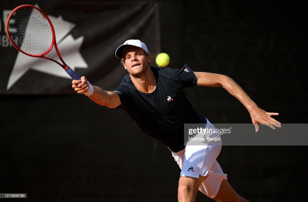 Tennis Team Challenge In Karlsruhe : News Photo