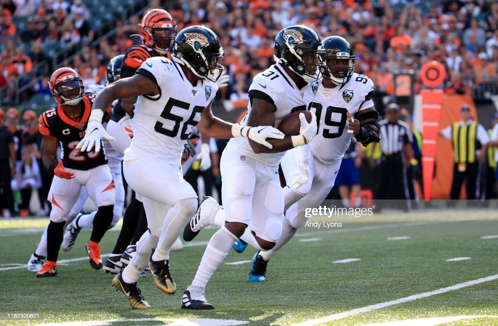 Jacksonville Jaguars v Cincinnati Bengals : News Photo
