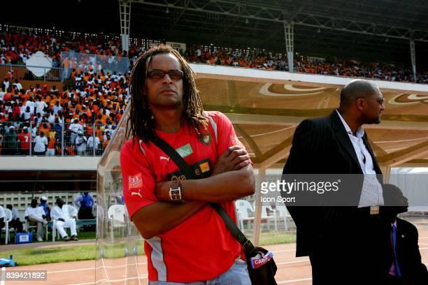 Yannick NOAH Cote d'Ivoire / Cameroun Eliminatoires Coupe du Monde
