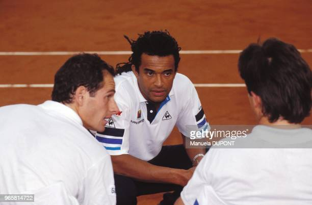 Henri Leconte and Guy Forget