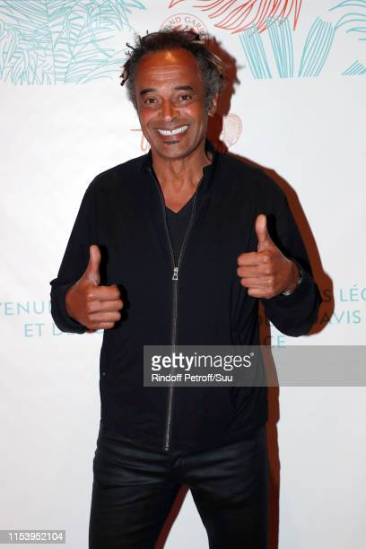 "Yannick Noah attends the ""Legends Of Tennis"" Dinner as part of 2019 French Tennis Open at on June 05, 2019 in Paris, France."