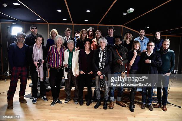 Yannick Noah Benjamin Biolay Bob Geldof Renaud Nicola Sirkis Louis Bertignac Tete Carla Bruni Christophe Williem Joey Star Vanessa Paradis Thomas...