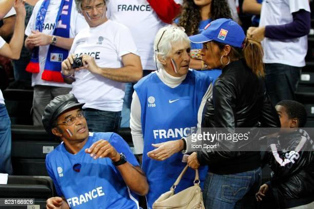 Yannick NOAH / Marie Claire NOAH - - France / Grece - 1/4 Finale Championnat d'Europe -Kaunas,